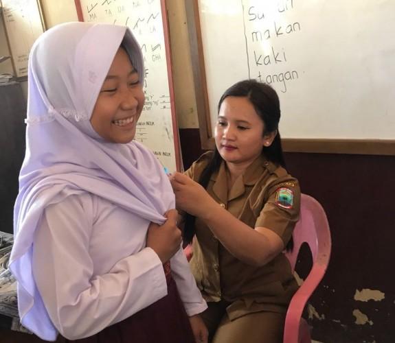 59.649 Anak di Lamsel Telah Imunisasi MR