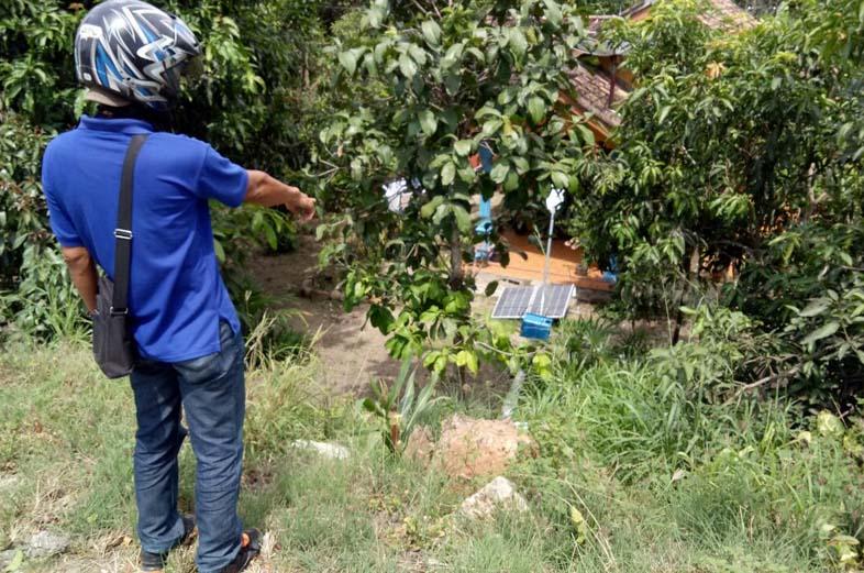 Warga Keluhkan LPJU di Jalinsum yang Rusak