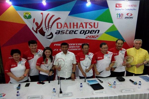 LAMPUNG POST | Daihatsu Astec Open 2017 Jaring 4.992 Peserta