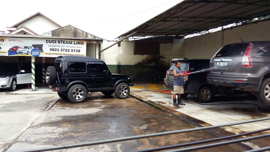 LAMPUNG POST | Cucian Mobil Lino Siap Jemput Kendaraan dan Bikin Kinclong