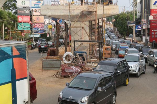 LAMPUNG POST | Proyek Ceroboh di Jalan Nasional