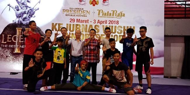 Tim Wushu Lampung Lakukan Uji Lapangan
