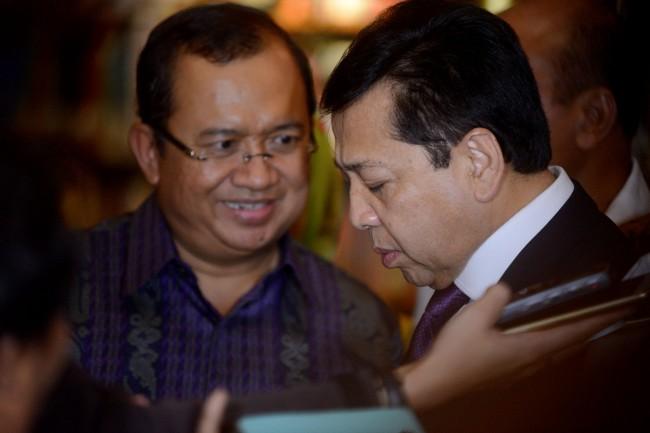 LAMPUNG POST | KPK Berpeluang Menetapkan Novanto Sebagai Tersangka Lagi