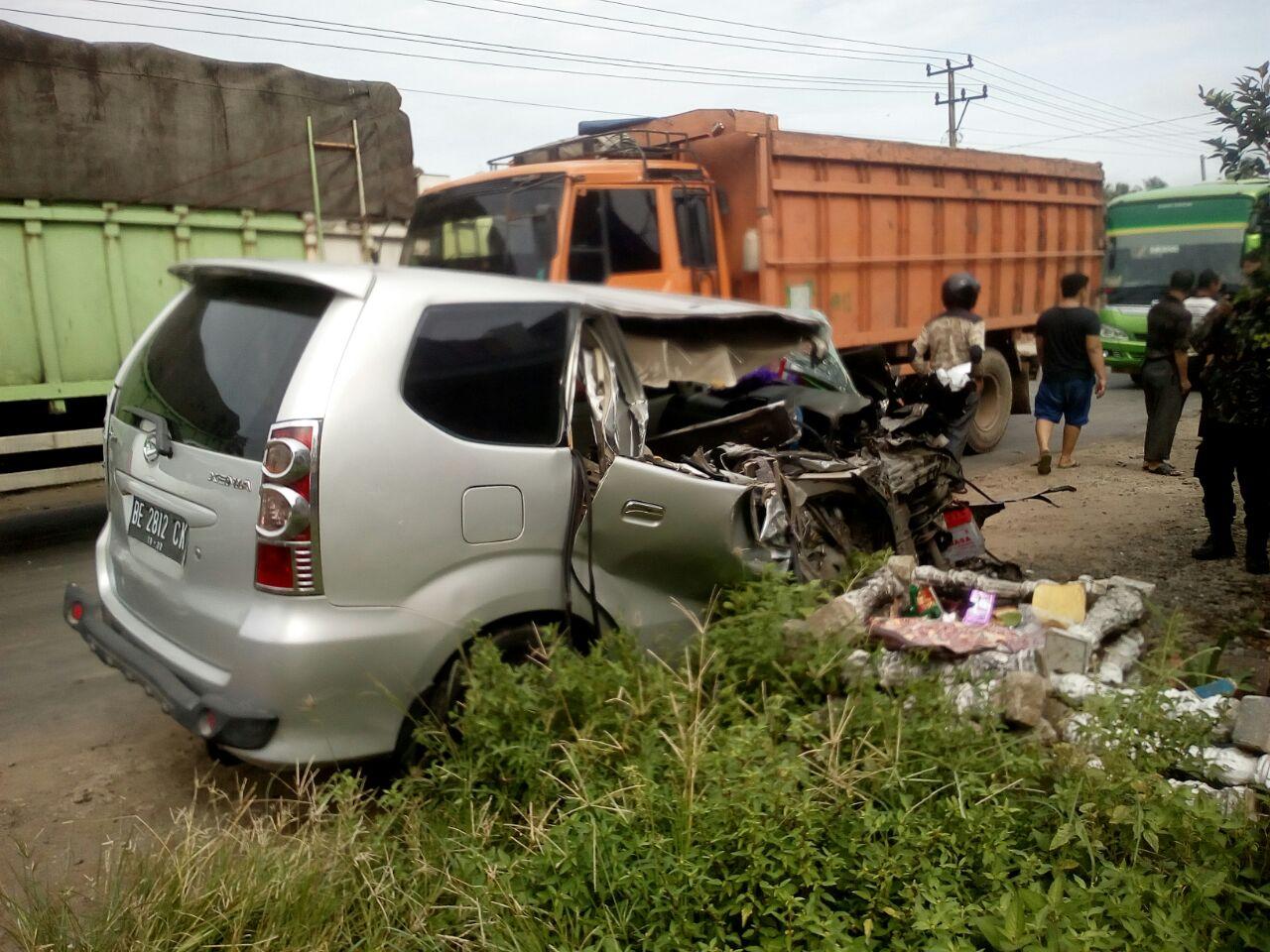 Anggota Polsek Tanjungbintang Tewas Kecelakaan di Tegineneng