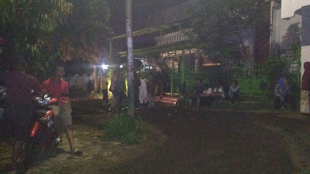 LAMPUNG POST | Lantai II Rumah di Palapa Dilalap Si Jago Merah