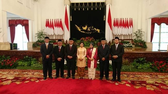 LAMPUNG POST | Presiden Lantik Anggota DKPP