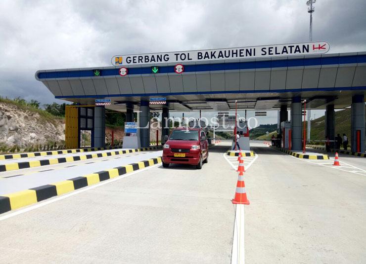 Jalan Tol Sepanjang 245 Km Siap Dipakai Mudik