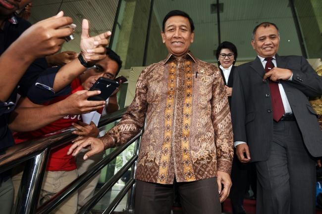 LAMPUNG POST   Wiranto Butuh Rp5 Miliar untuk Bubarkan Ormas