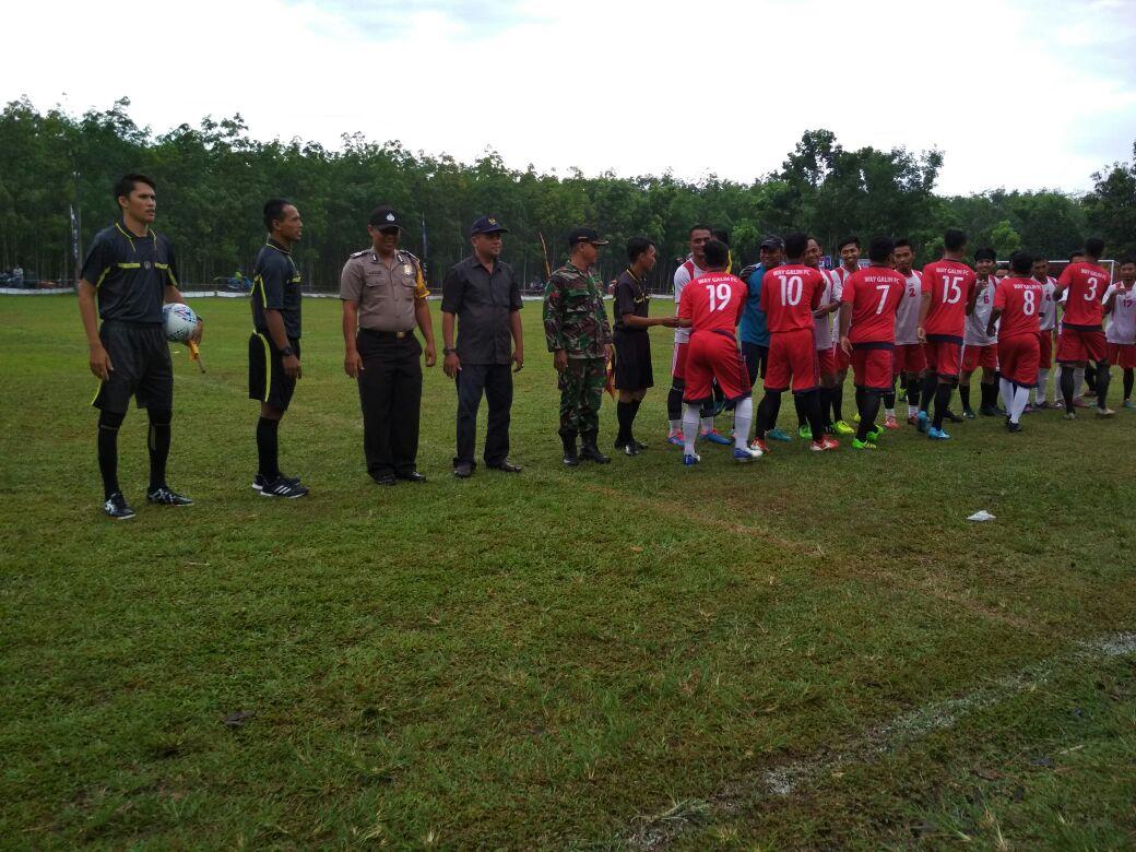 LAMPUNG POST | Open Tournament Sepakbola Waygalih Cup 2017 Resmi Dibuka