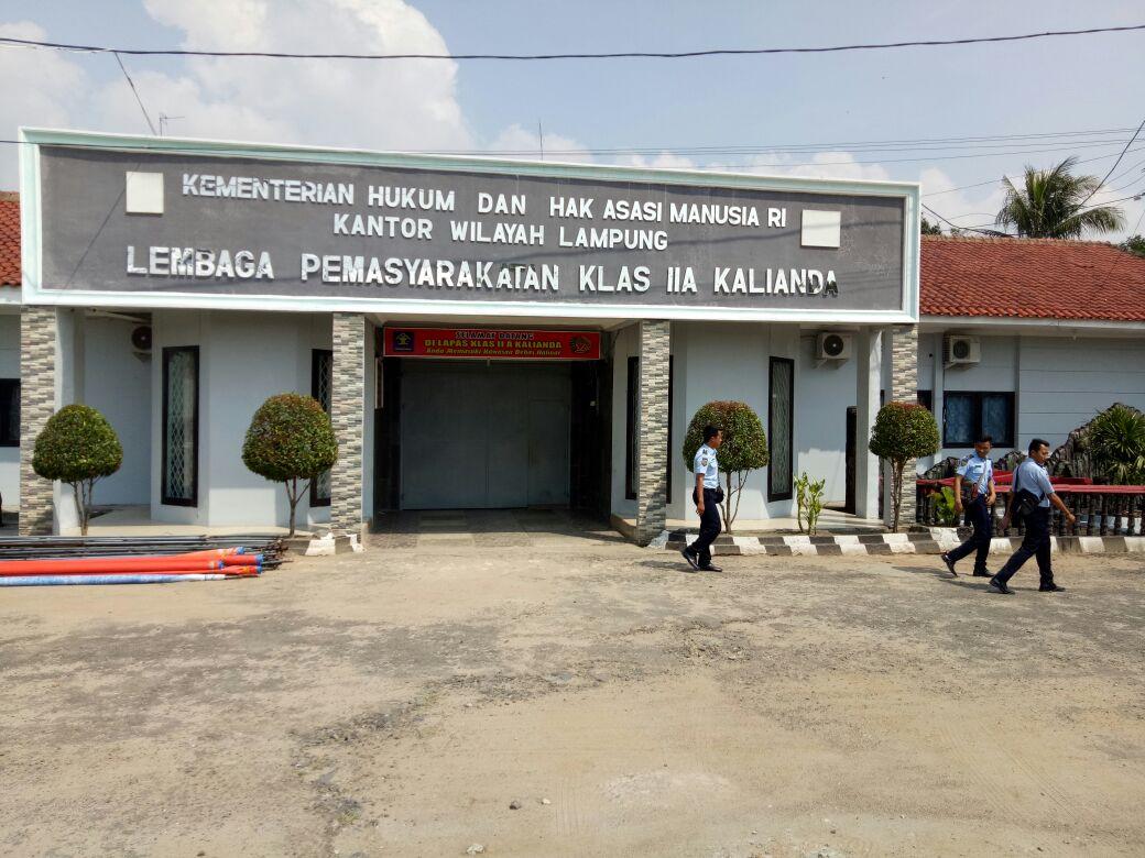 BNNP Bantah Tangkap Kepala Lapas Kalianda