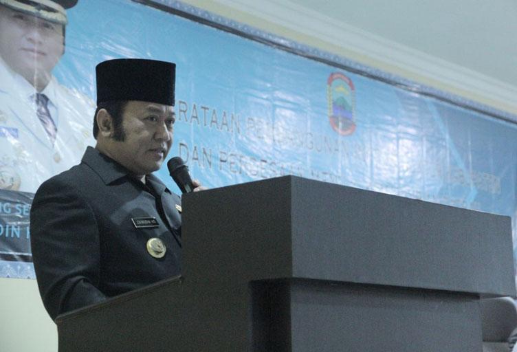 Zainudin Sayangkan Ketidakhadiran DPRD Lampung di Musrenbangkab