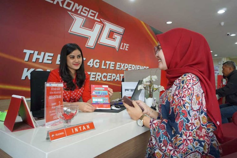 Telkomsel Tetap Buka Layanan Registrasi Prabayar
