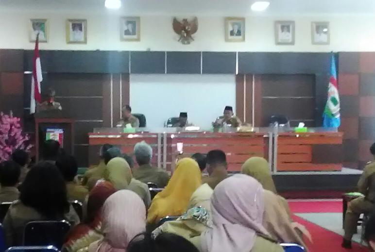 Bupati Pringsewu Bagikan DPA 2018