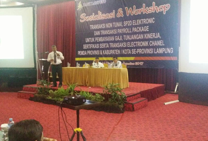 LAMPUNG POST | Bank Lampung Gencarkan Transaksi Non Tunai