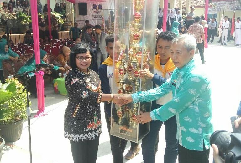 LAMPUNG POST | Dwi Lomba PMR ke XV 2017 Dibuka