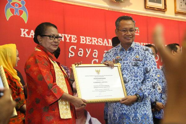 Gubernur Lampung Jadi Inisiator Provila