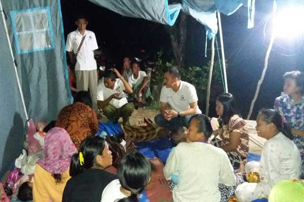 Perindo Lamteng Bantu Korban Banjir Di Kampung Cabang