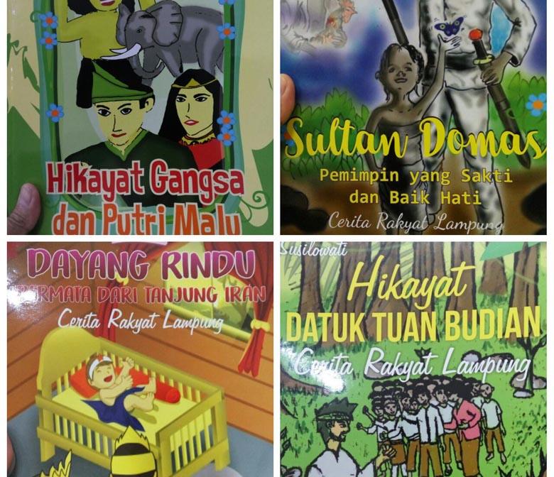 Kantor Bahasa Luncurkan 4 Buku Cerita Rakyat Lampung