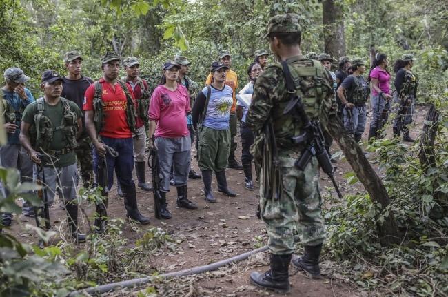 LAMPUNG POST | Ingin Hidup Normal, Pemberontak di Kolombia Lucuti Persenjataan