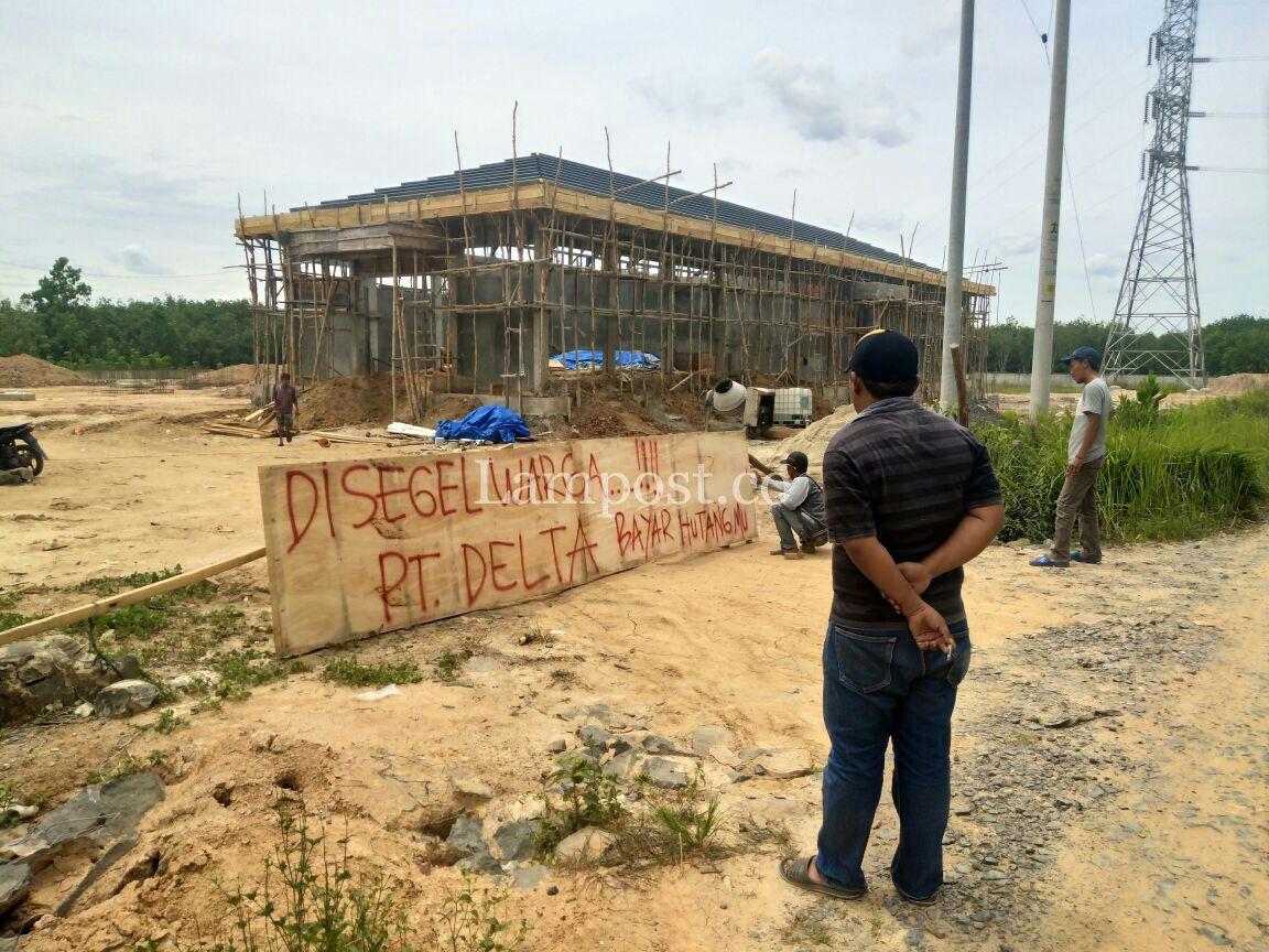 Disegel Warga, Pembangunan Gardu Induk PLN di Mesuji Terhenti