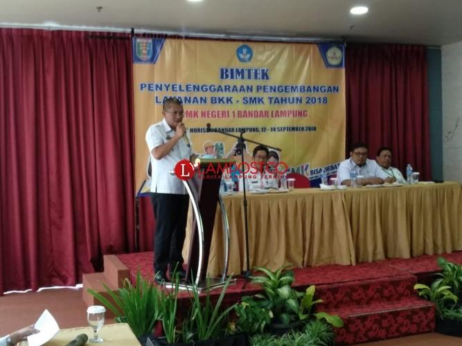 62 SMK Bandar Lampung Ikuti Bimtek BKK