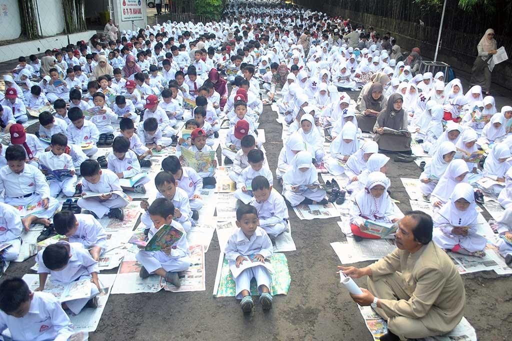 LAMPUNG POST   Pemerintah Larang Tes Baca untuk Masuk SD