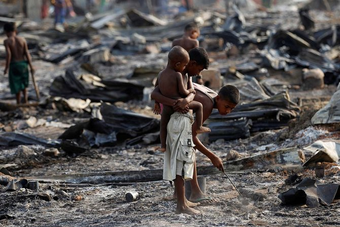 LAMPUNG POST | Rohingya Dihabisi