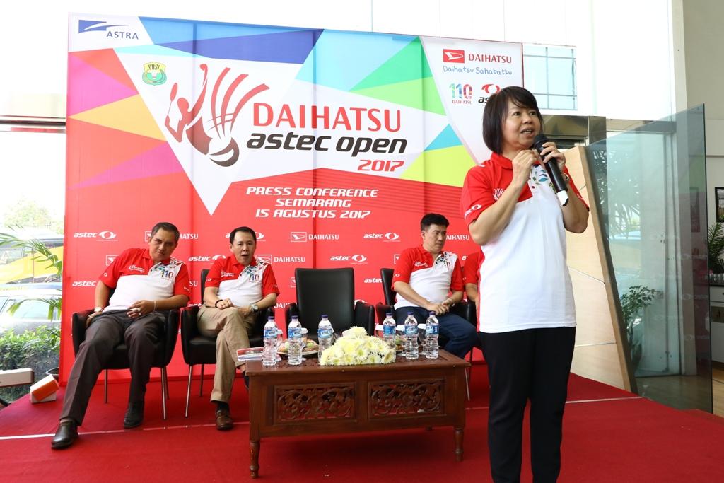LAMPUNG POST | Daihatsu ASTEC Open 2017 Cari Bibit Bulu Tangkis di Semarang