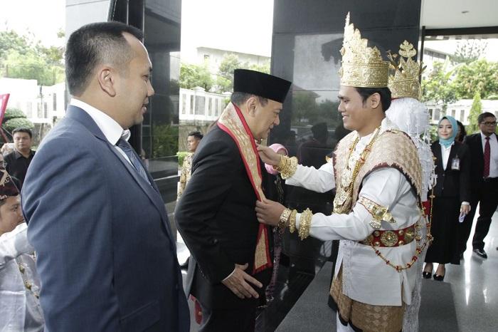 LAMPUNG POST | Gubernur BI Hadiri Sertijab Kepala Perwakilan BI Lampung