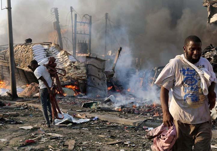 LAMPUNG POST | 2.078 Orang Tewas dalam Konflik Bersenjata di Somalia Sepanjang 2017