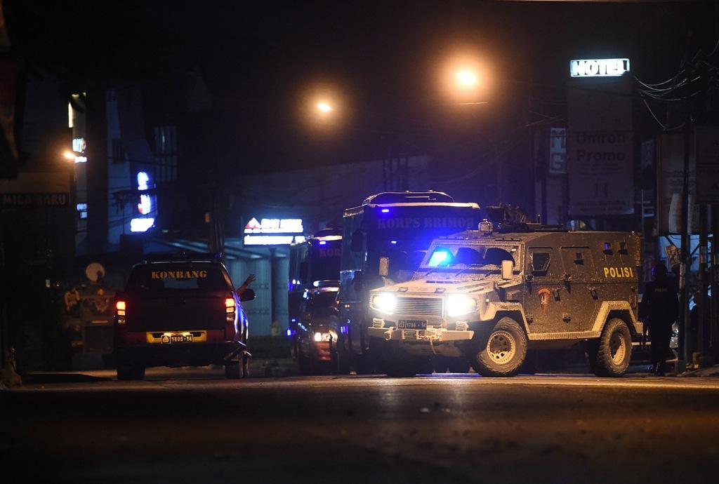Napi Terorisme Rutan Mako Brimob Masih Bersenjata
