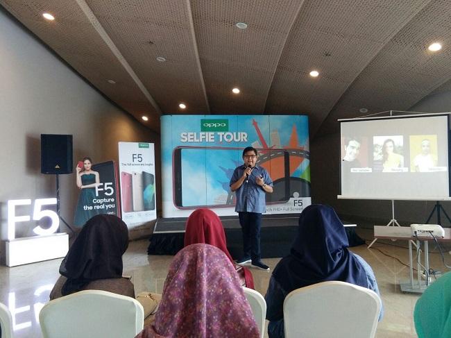 Oppo Indonesia Gelar Oppo Selfie Tour
