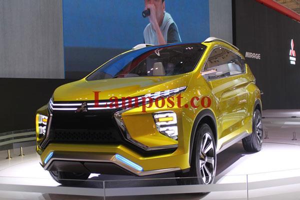 LAMPUNG POST | Belum Diluncurkan, Model Baru Mitsubishi Sudah Banyak Dipesan