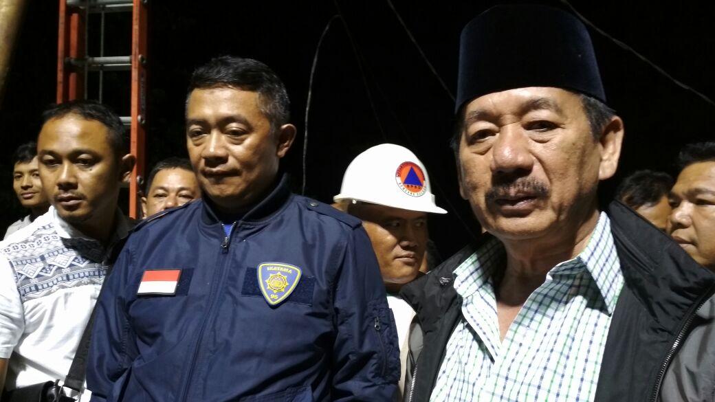 LAMPUNG POST | Polresta  Lidik Kebakaran Pasar, Wali Kota Sebut Ada Sabotase