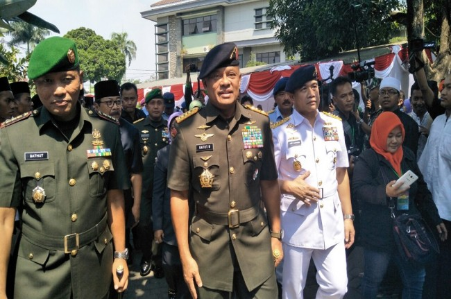 LAMPUNG POST | Panglima TNI: Saya yang Perintahkan Nonton G30S/PKI