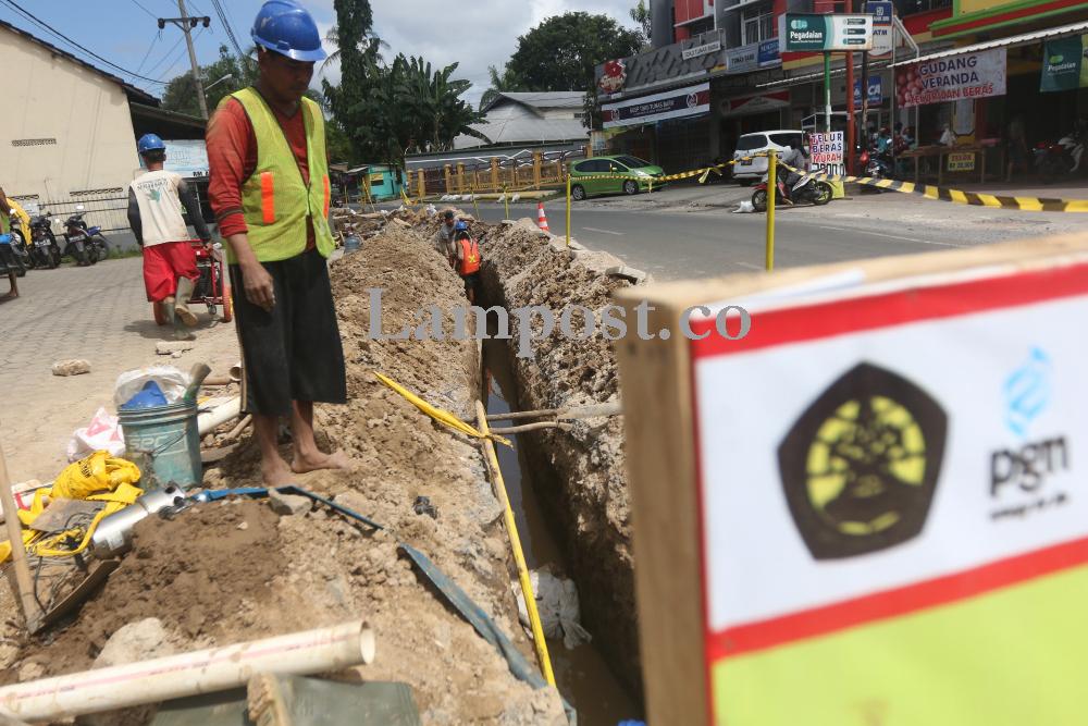 LAMPUNG POST   Warga Bandar Lampung Bisa Nikmati Gas Gratis Akhir Tahun