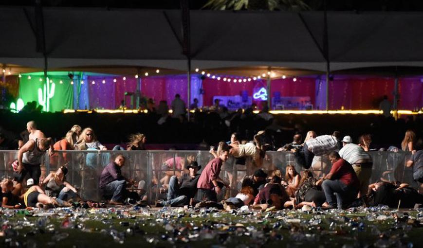LAMPUNG POST   Teror Brutal di Las Vegas, 59 Orang Tewas dan 527 Terluka