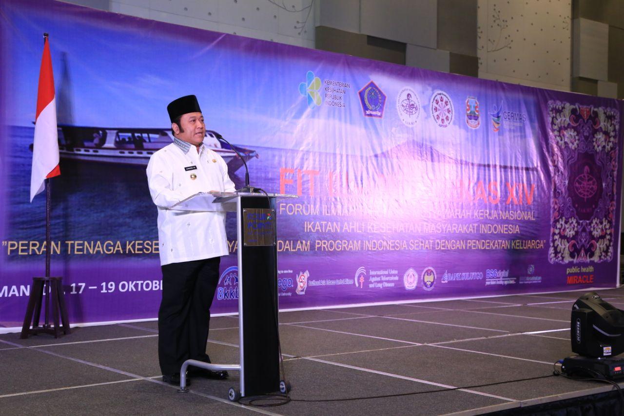 LAMPUNG POST | Bupati Lampung Selatan Jadi Pembicara di Mukernas IAKMI