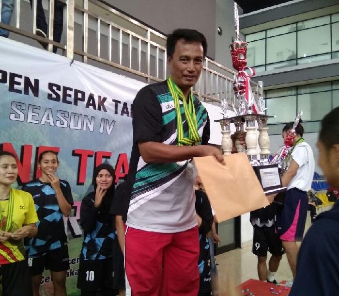 LAMPUNG POST | Pelatih Sepak Takraw Lampung Mursalin, Meninggal Dunia