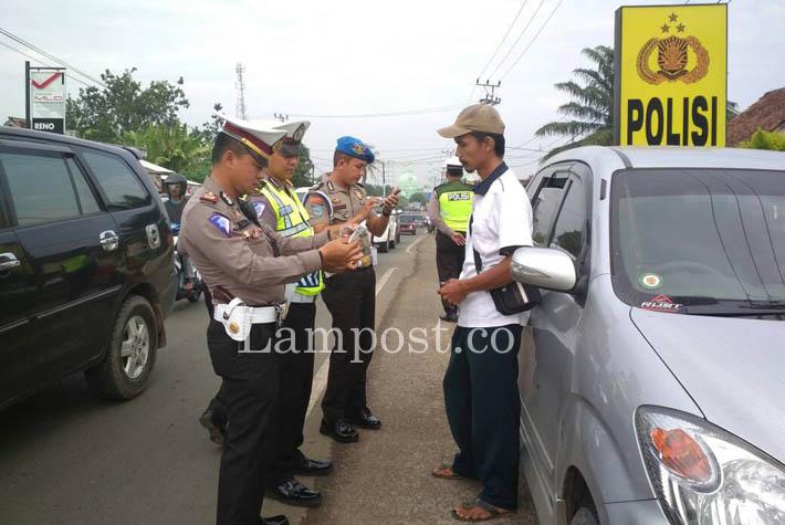 LAMPUNG POST   Operasi Patuh Lamsel Menindak 954 Pelanggar
