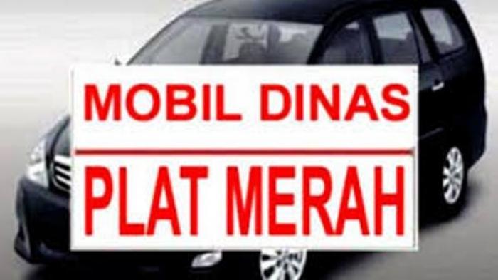 Nah! Inspektorat Lamtim Ancam Tarik Mobil Dinas Plat Merah yang Diganti Plat Hitam