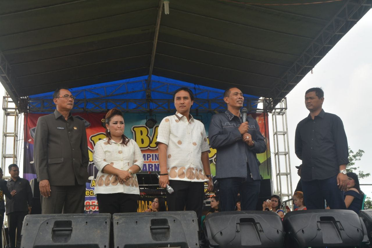 LAMPUNG POST | Syukuran Terpilih Pilkada, Hendriwansyah Gelar Pesta RakyatPotong 10 Kerbau