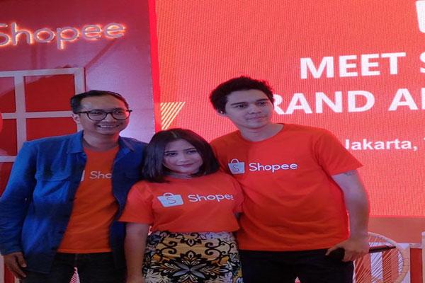 Prilly Latuconsina Brand Ambassador Shopee