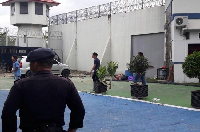 LAMPUNG POST | Tahanan Kabur karena Perlakuan Kasar Petugas