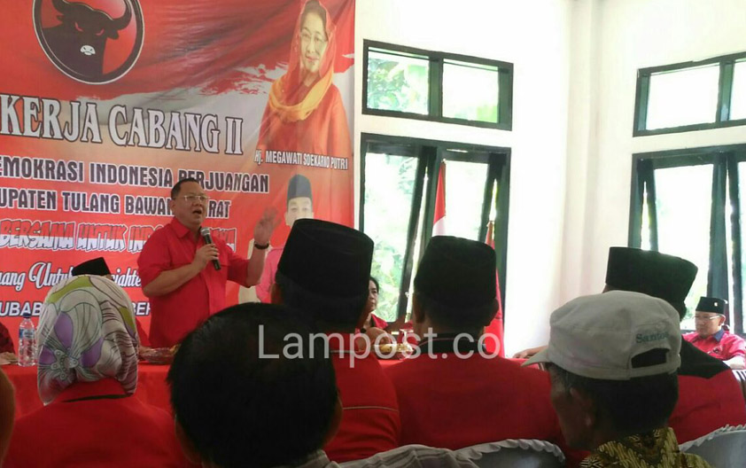 LAMPUNG POST | PDIP Putuskan Cagub Lampung Pekan Depan