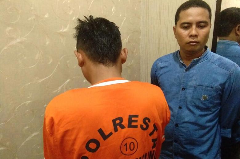 LAMPUNG POST | Polisi Ringkus Pemasok Sabu yang Dikendalikan Napi LP Wayhuwi
