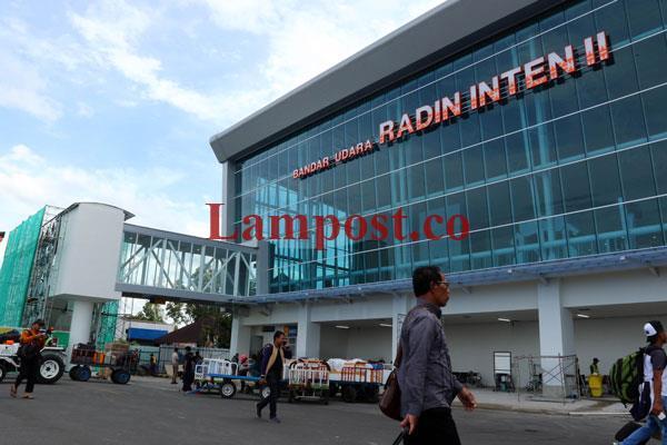 LAMPUNG POST | Pemprov Lampung Kucurkan APBD Rp480 Miliar untuk Bandara Radin Inten II