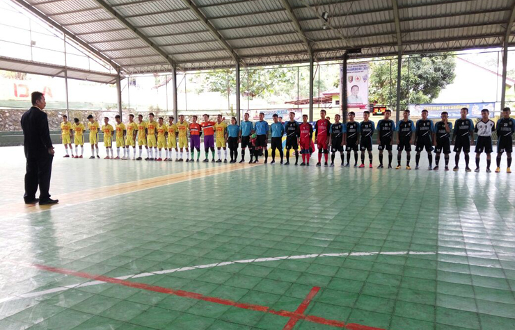 LAMPUNG POST   Tuba Vs Lamtim Jadi Partai Pembuka Cabor Futsal Porprov VIII
