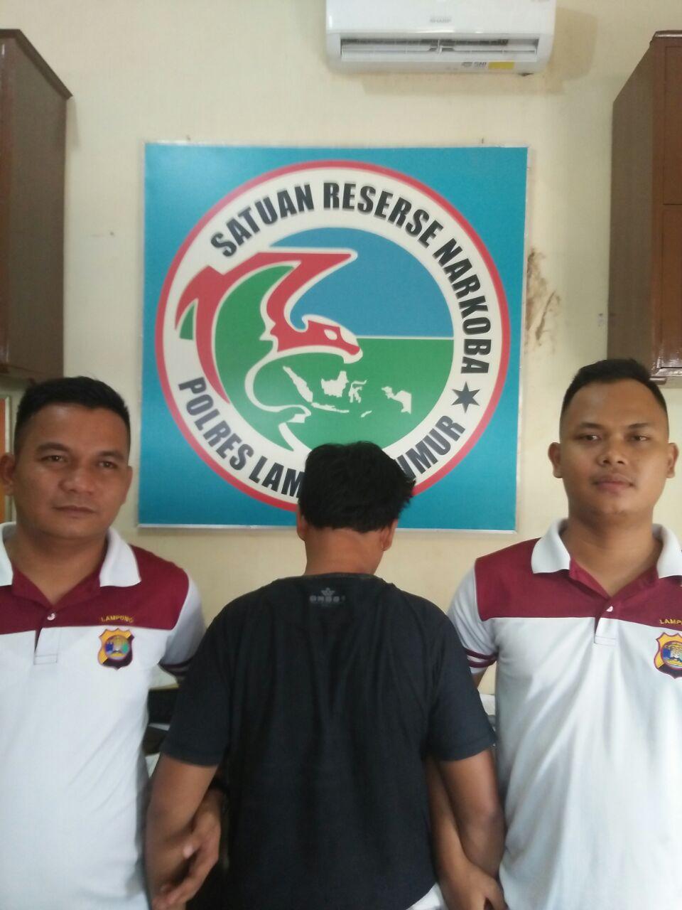 DPO Kasus Narkoba Ditangkap di Pasirsakti