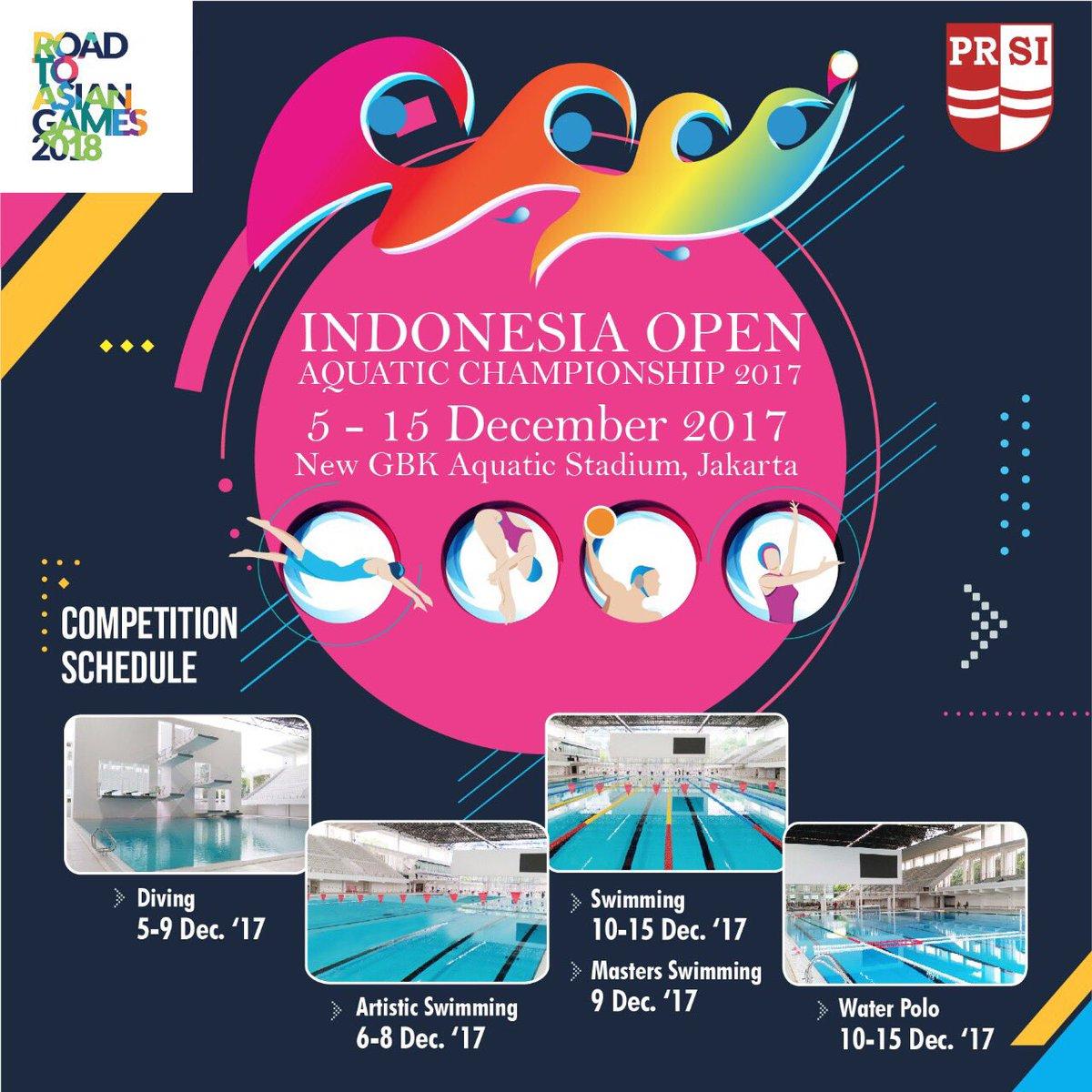 Delapan Perenang Lampung  Ikuti Indonesia Open